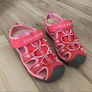 Coga Kids Girls Sport Sandals Fisherman Closed Toe